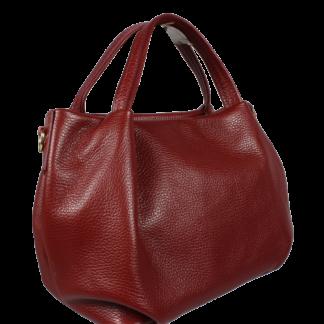 Italská kožená kabelka Tea Rossa Scura