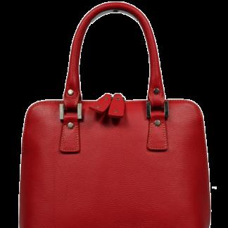 Italská kožená kabelka Stella Rossa