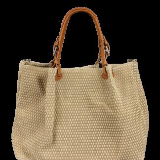 Béžová kabelka pře rameno Belloza Beige Scuro