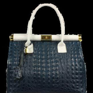 Doktorská kabelka do ruky Laureta Blu Bianca Cocco