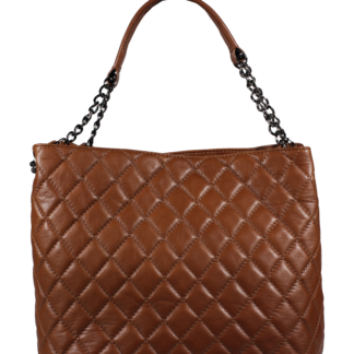 Genuine leather kabelka Emma Marrone Noce