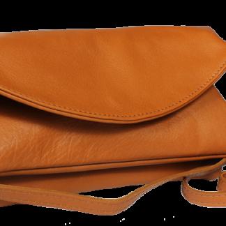 Italská kožená kabelka Betta Marrone
