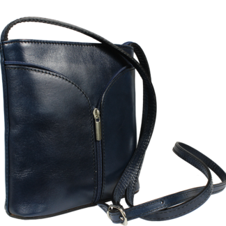 Malá modrá kabelka Lea Blu