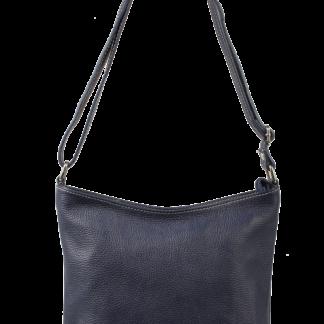 Malá kožená crossbody kabelka Ebe Blu