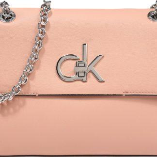 Calvin Klein Taška přes rameno růžová / zlatá